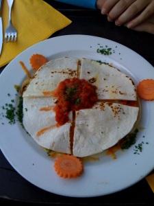 Choriza Quesadilla