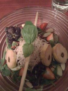 Salade et Foie Gras
