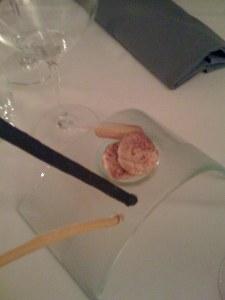 Grissini mit Parmesanmeringue