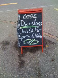 German specials
