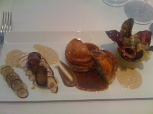Pithivier with mushrooms