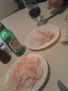 Lardo und Porchetta