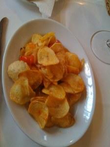 Spanische Bratkartoffeln