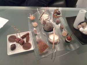 Les mignardises et chocolats
