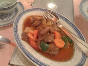 Duck sweet and sour