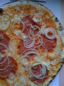 Pizza Salami et Cipolla