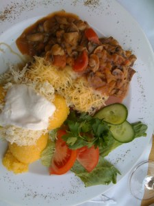 Beef Noyal with Brinza