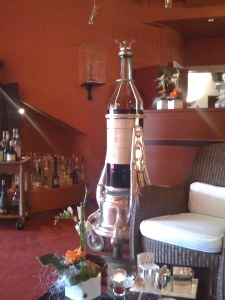 Cognac dispensing contraption