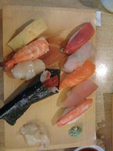 Sushi Breakfast set