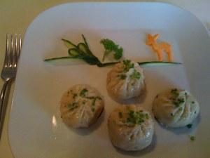 Dumplings mit Schweinefleisch