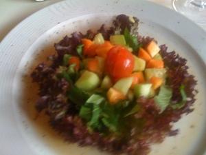 Papaya Gurken Salat