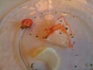 Lachs mit Frischkaese