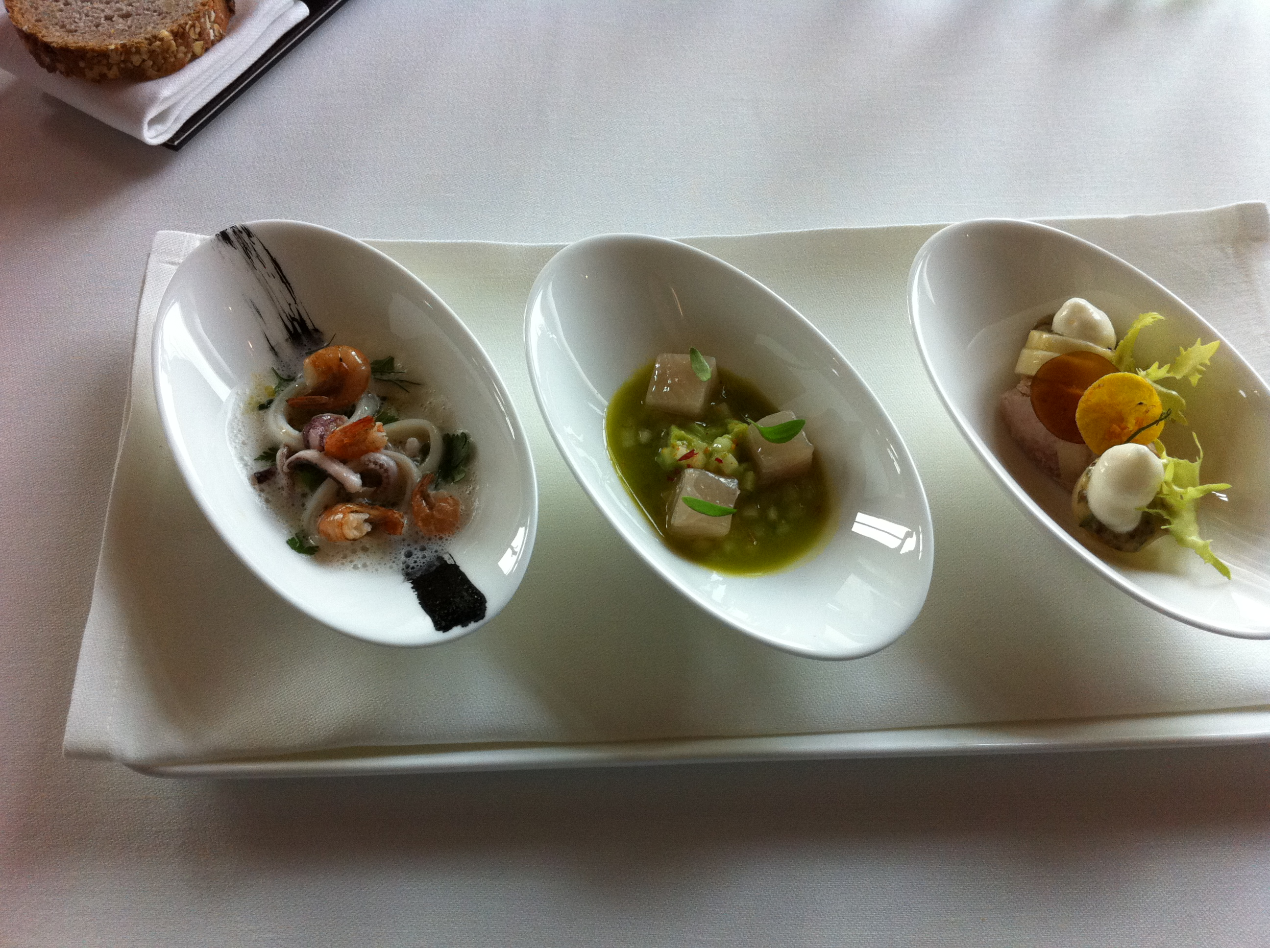 The restaurant grand hotel dolder zurich lunch the for Amuse bouche cuisine