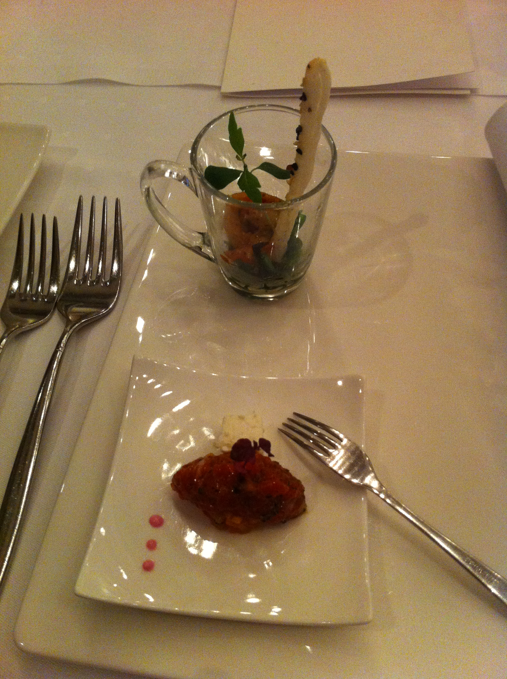 Restaurant r merhof aarbon thurgau therealpickygourmet for Amuse bouche cuisine